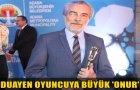 Altın Kozadan Aytaç Arman'a Onur Ödülü