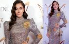 Neslihan Atagül'ün Pantene Altın Kelebek Ödülleri Kıyafeti