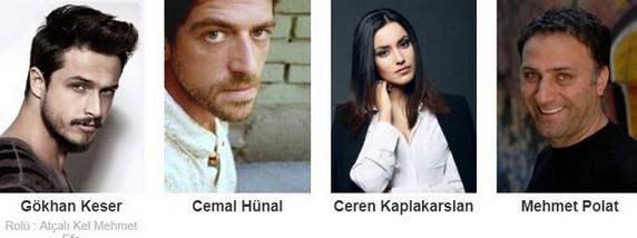 Atçalı Kel Mehmet Filmi Oyuncuları