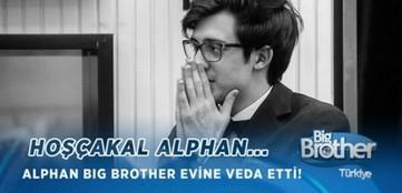 Big Brother Türkiye 5 Aralık Alphan elendi