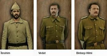 Yüzyıllık mühür dizisi oyunculari