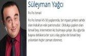 Süleyman Yağcı (İsmail)