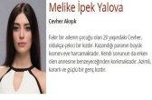 Melike İpek Yalova (Cevher Akışık)