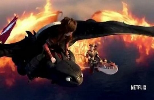 Dragons: Race To The Edge 3. Sezon 2. Tanıtım Fragmanı